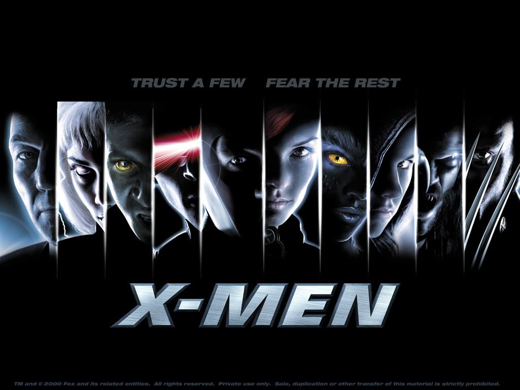 La trilogie X-Men (ainsi que les Wolverine et les prequels) Posterxmen